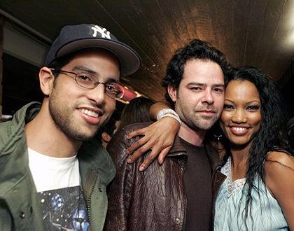 "Adam Rodriguez, Rory Cochrane and Garcelle Beauvais-Nilon - Nautica & Details ""Next Big Things"" party, April 12, 2005"