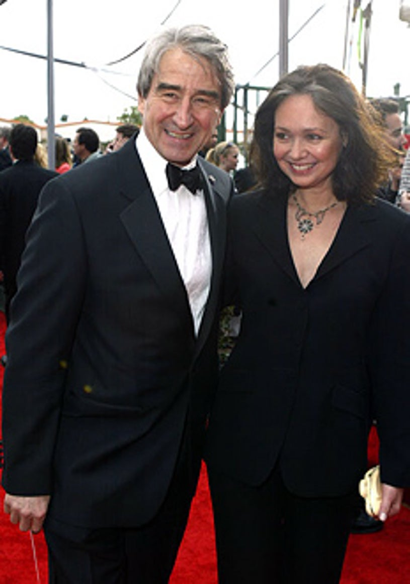 Sam Waterston and wife Lynn Louisa Woodruff Waterston - The 10th Annual Screen Actors Guild Awards in Los Angeles, February 22, 2004