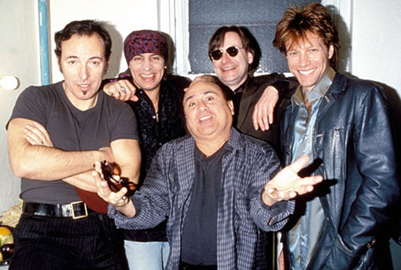 Bruce Springsteen and the E-Street Band,  Danny Devito and Bon Jovi - Sgt. Patrick King Benefit Concert