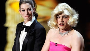 Oscars 2011 Top Moments: James Franco in a Dress, Taylor Lautner Without a Shirt
