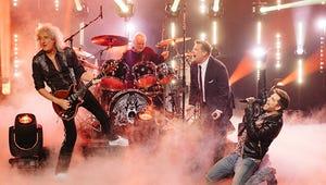 James Corden vs. Adam Lambert: Who's the Better Queen Front Man?