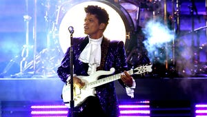 Grammys: Bruno Mars Nearly Brought the House Down with Prince Tribute