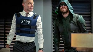 Arrow's David Ramsey Says Paul Blackthorne Steals the Scene with Lance's Return