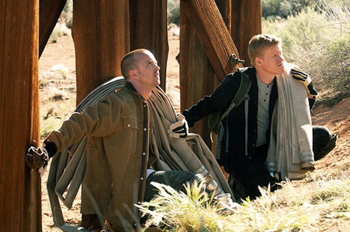"""Breaking Bad - Season 5 - """"Dead Freight"""" - Aaron Paul and Jesse Plemons"""
