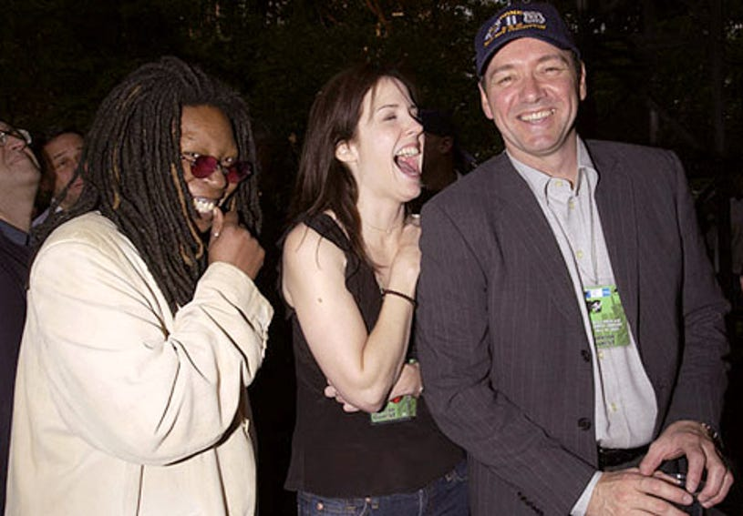 Whoopi Goldberg, Mary-Louise Parker and Kevin Spacey - MTV's Rock and Comedy Concert