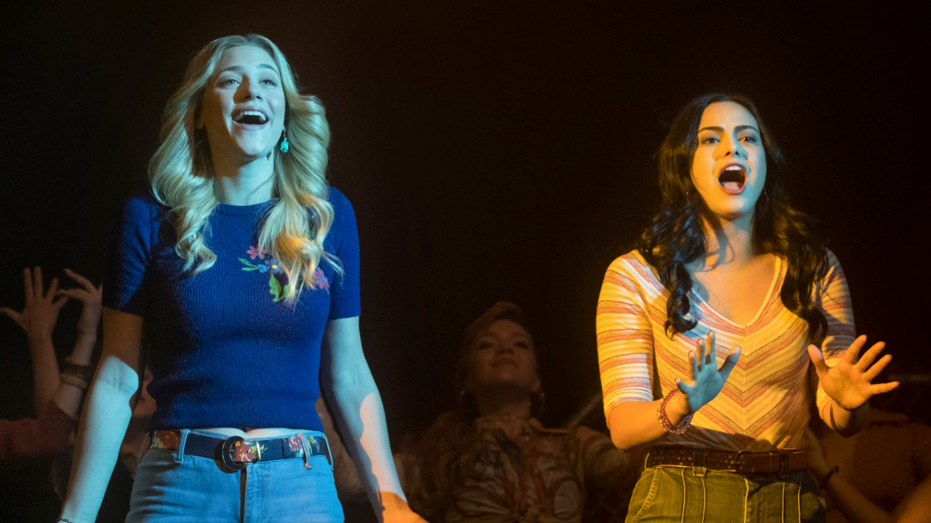 Lili Reinhart and Camila Mendes, Riverdale