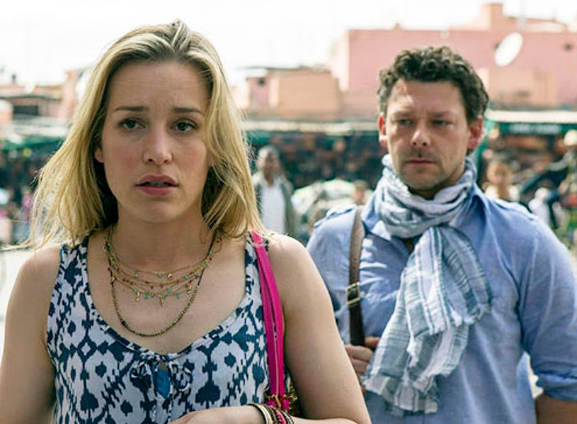 """Covert Affairs - Season 3 - """"Hang on to Yourself"""" - Piper Perabo and Richard Coyle"""