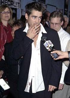 """Colin Farrell - """"The Recruit"""" Premiere"""
