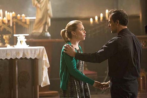 "The Originals - Season 1 - ""The Casket Girls"" - Leah Pipes and Todd Stashwick"