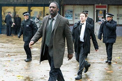 Luther - Season 1 - Idris Elba and Warren Brown