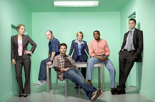 Psych - Season 2 - Maggie Lawson, Corbin Bernsen, James Roday, Kirsten Nelson, Dule Hill, Timothy Omundson