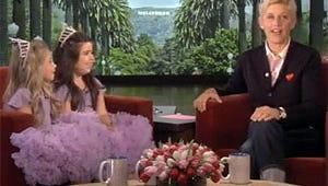VIDEO: Ellen Sends British Web Stars Sophia Grace and Rosie to the Grammys