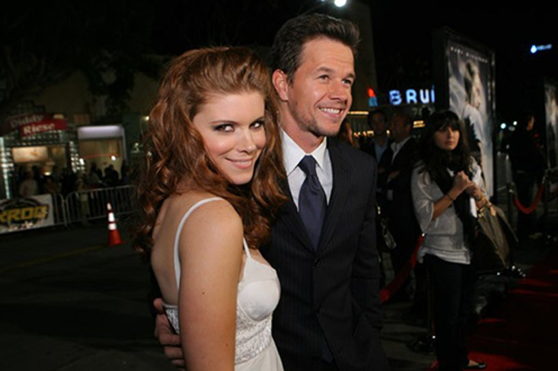 """Kate Mara and Mark Wahlberg - The """"Shooter"""" Los Angeles premiere, March 7, 2007"""