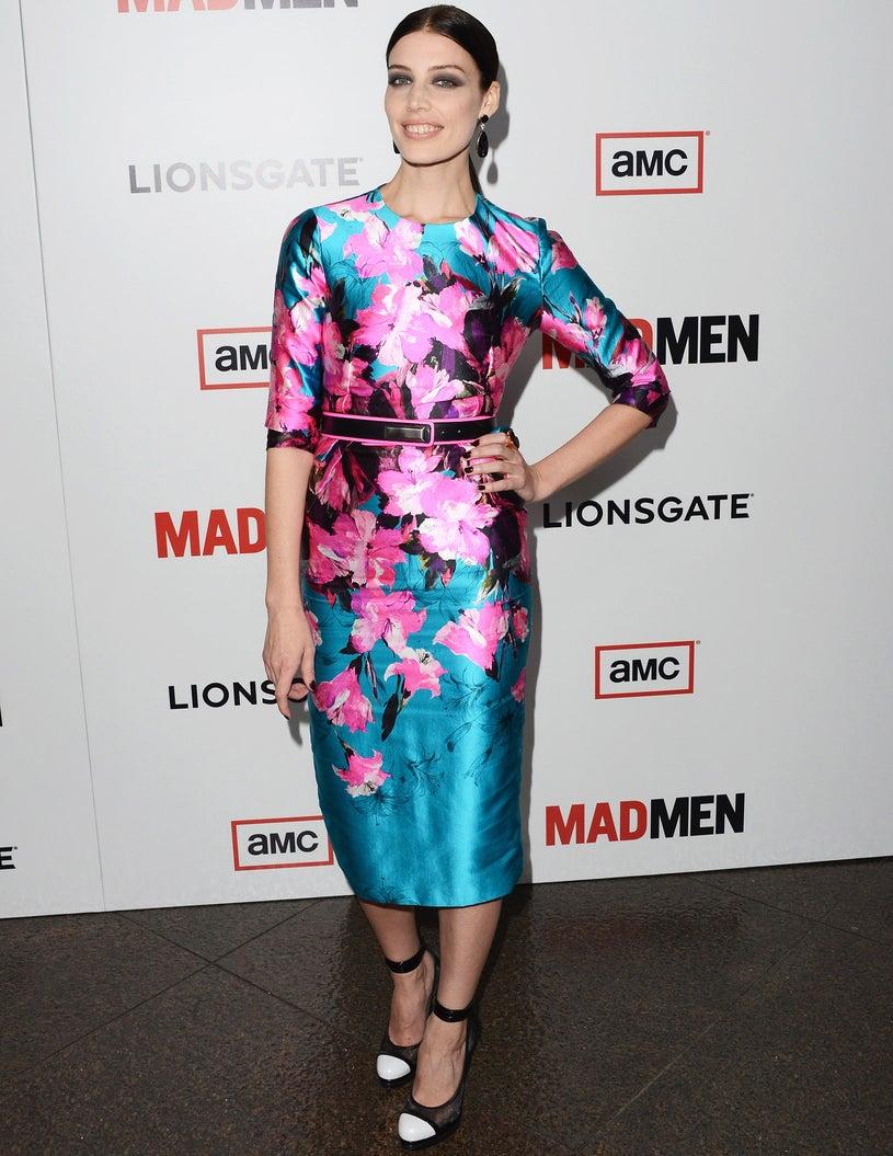 """Jessica Pare - the Premiere of AMC's """"Mad Men Season 6 in Los Angeles, California, March 20, 2013"""