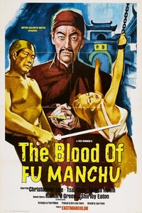 Kiss and Kill as Fu Manchu