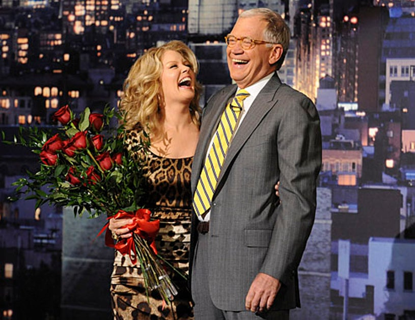 Late Show with David Letterman - Mary Hart, David Letterman - May 10, 2011