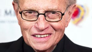 """Larry King on Charlie Sheen: """"I'm Glad I'm Not on the Air"""""""