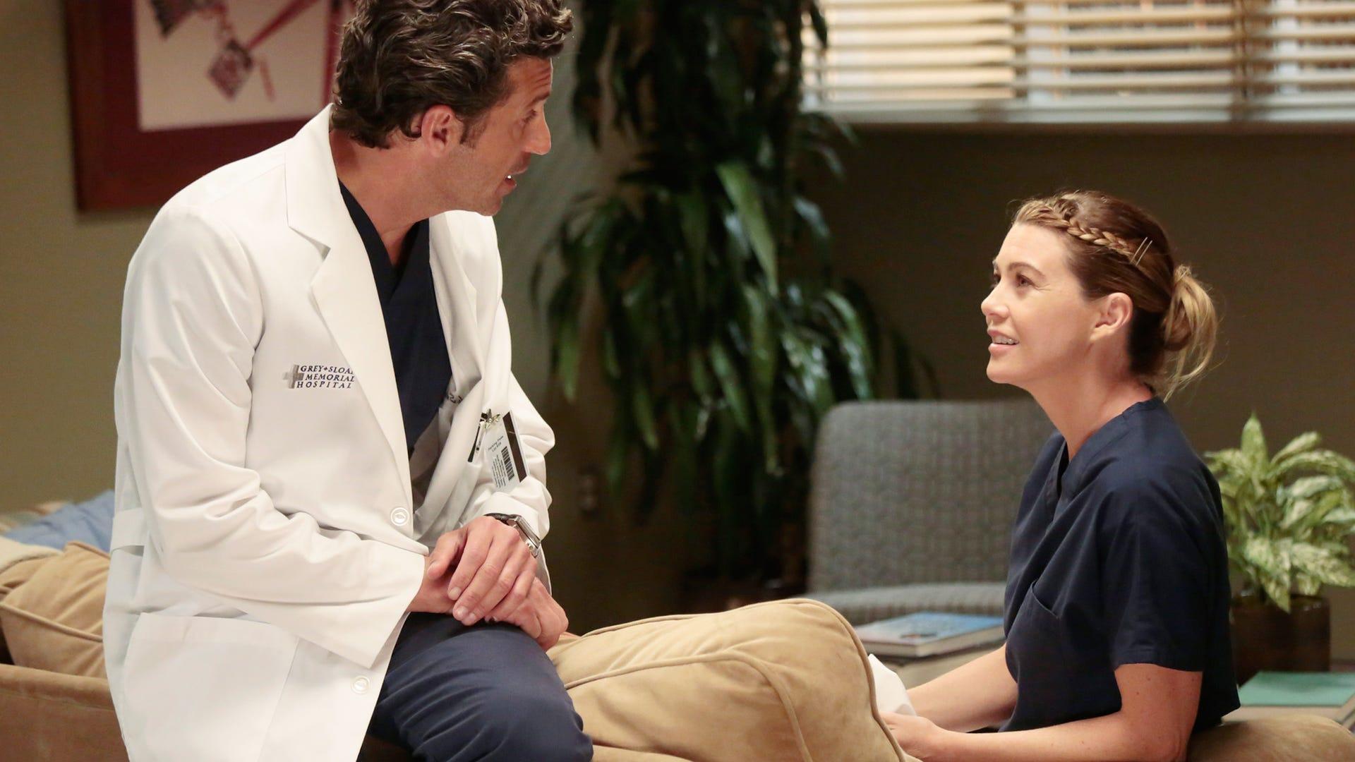 Patrick Dempsey and Ellen Pompeo, Grey's Anatomy