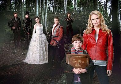 Once Upon a Time - Season 1 - Jamie Dornan, Lana Parrilla, Ginnifer Goodwin, Josh Dallas, Robert Carlyle, Jared Gilmore and Jennifer Morrison