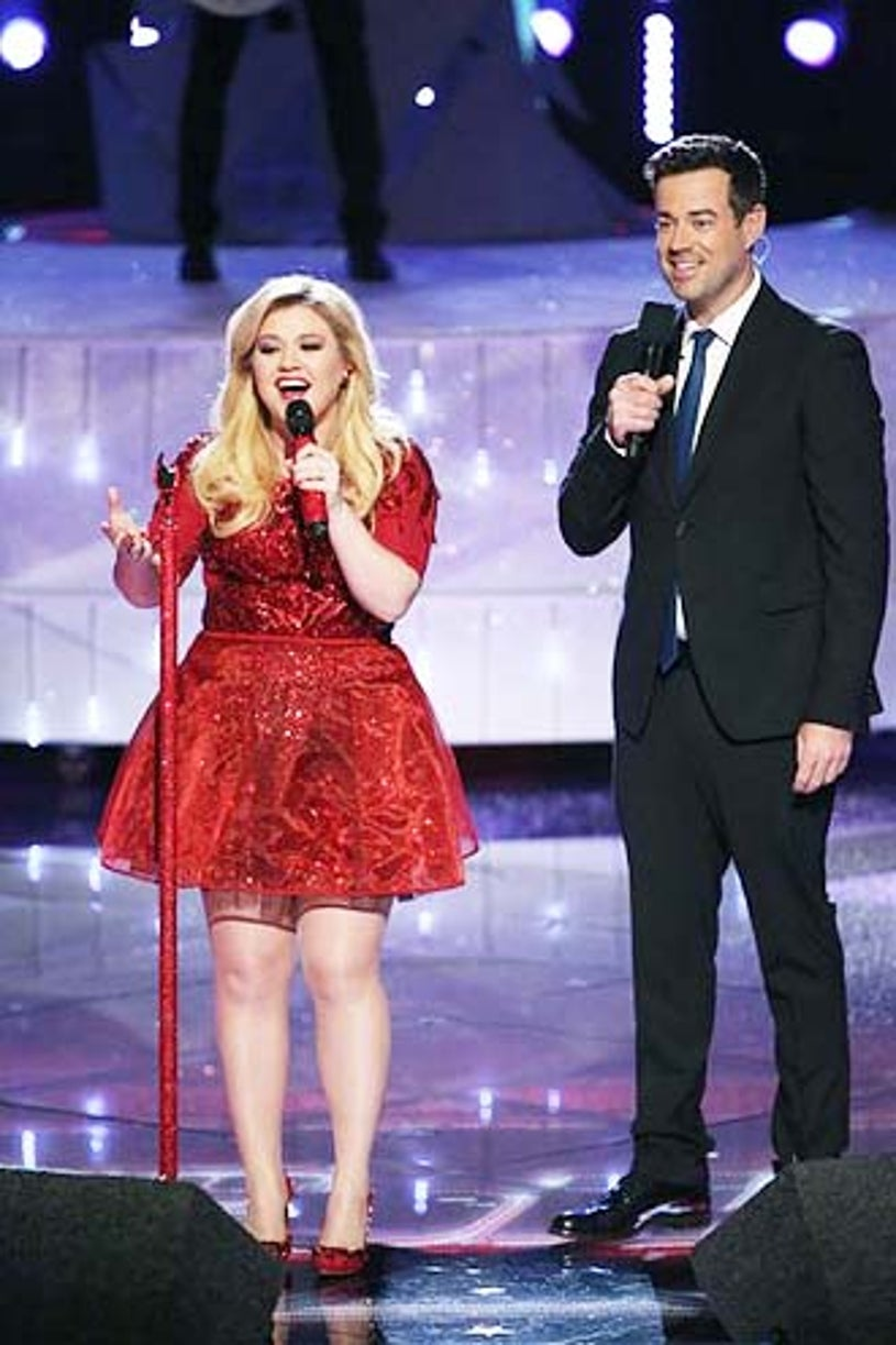 """The Voice - Season 5 - """"Live Eliminations"""" - Kelly Clarkson and Carson Daly"""