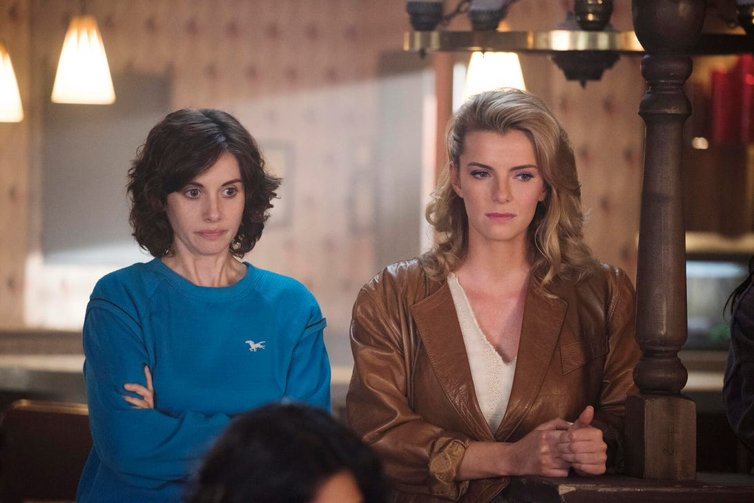 Alison Brie and Betty Gilpin, GLOW
