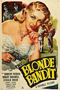 The Blonde Bandit as Mrs. Henley