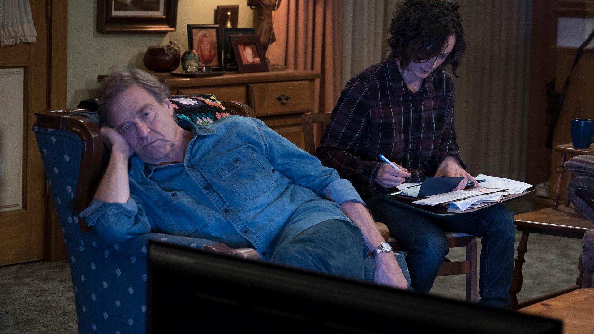 John Goodman, Sara Gilbert