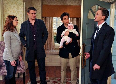 "How I Met Your Mother - Season 7 - ""The Rebound Girl"" - Alyson Hannigan, Jason Segel, Josh Radnor, Neil Patrick Harris"