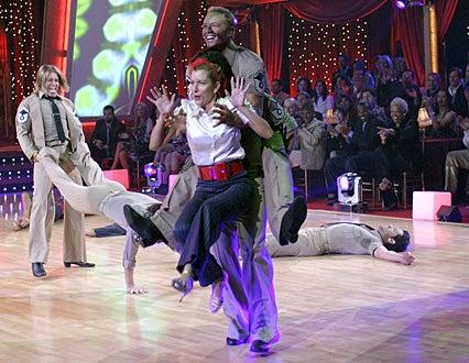 Dancing with the Stars - Season 4 - Billy Ray Cyrus, Heather Mills, Ian Ziering , Maksim Chmerkovskiy