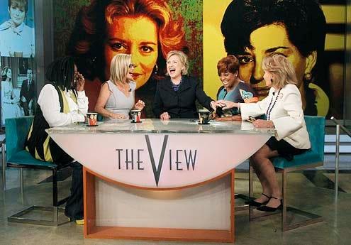 The View - Season 17 -Whoopi Goldberg, Jenny McCarthy, Hillary Clinton, Sherri Shepherd and Barbara Walters