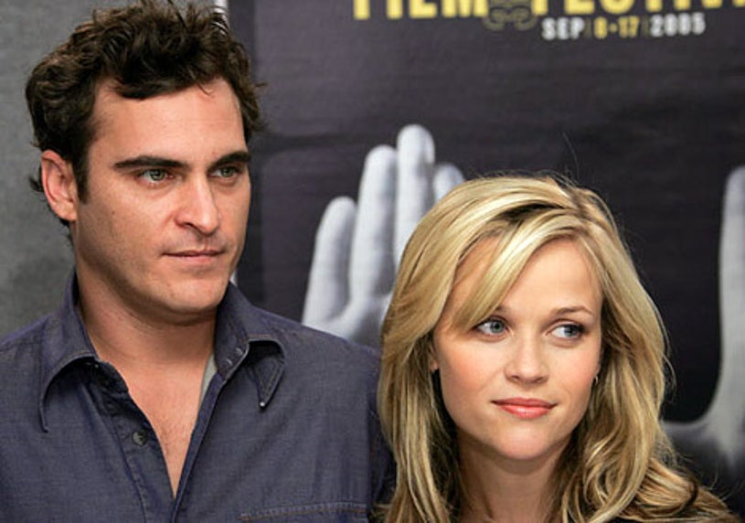 Joaquin Phoenix and Reese Witherspoon - 2005 Toronto Film Festival