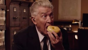 Twin Peaks' New Teaser Is Just David Lynch Eating a Donut