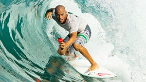 VIDEO: Kelly Slater Gets a Perfect Score During Surfing Competition