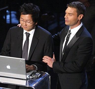Masi Oka and Host Ryan Seacrest - The 59th Annual Primetime Emmy Awards, September 16, 2007