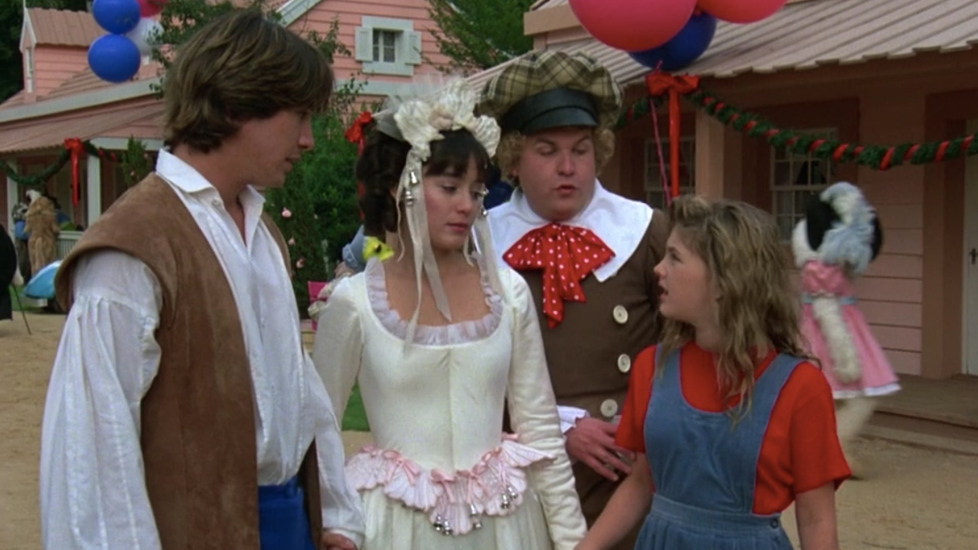 Keanu Reeves and Drew Barrymore, Babes in Toyland