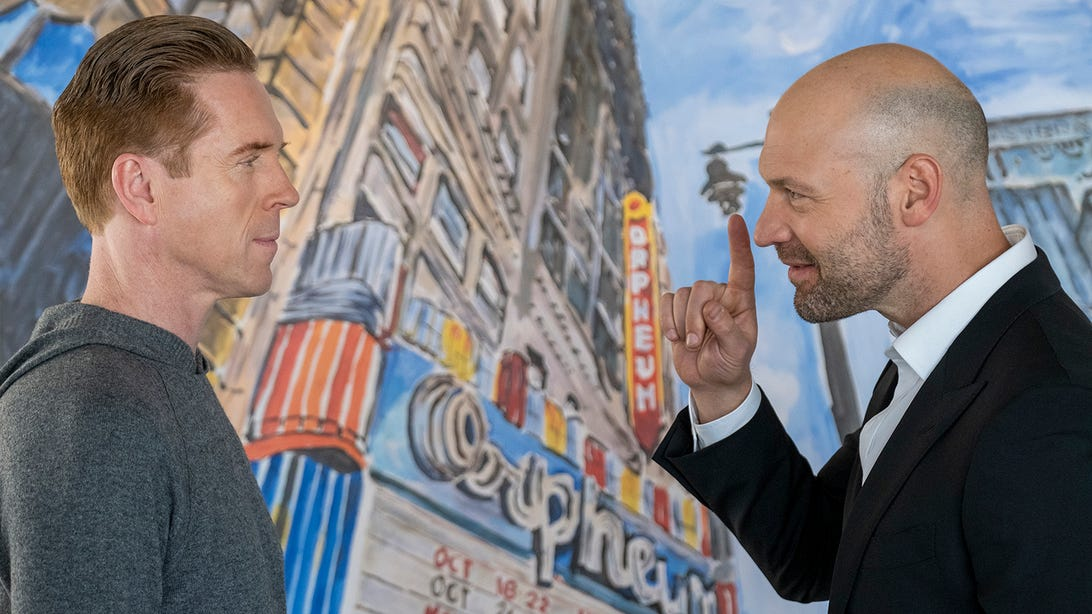 Damian Lewis and Corey Stoll, Billions