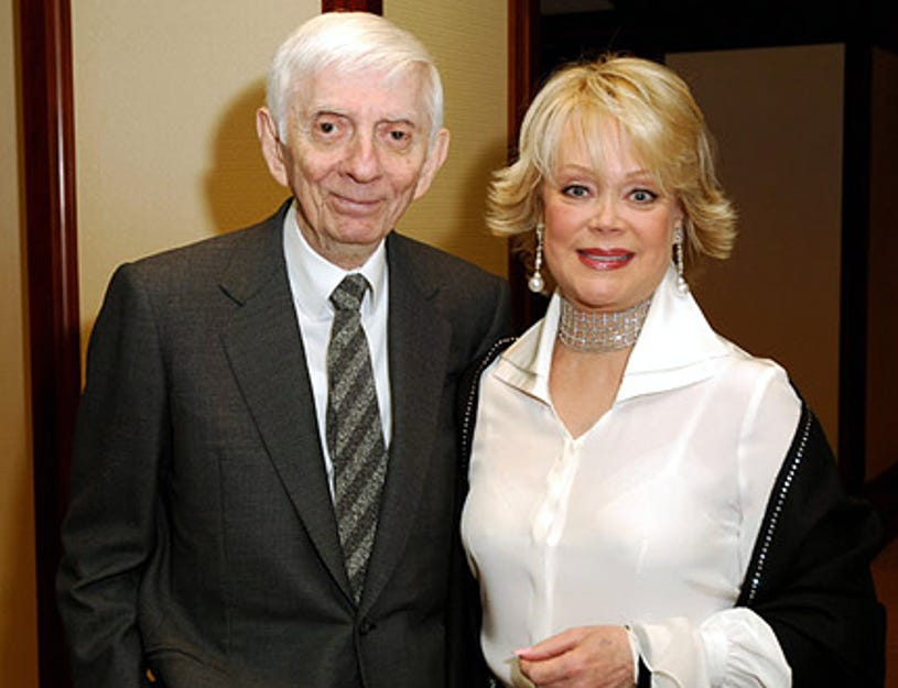 Aaron Spelling and Candy Spelling - The 12th Annual Race to Erase MS, April 22, 2005