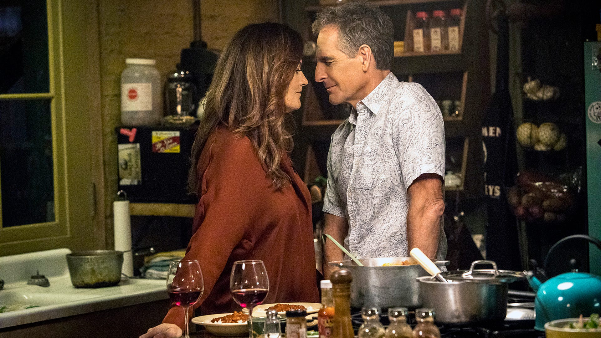 Chelsea Field as ADA and Reserve Navy CDR JAG Corps Rita Devereaux and Scott Bakula as Special Agent Dwayne Pride, NCIS: New Orleans