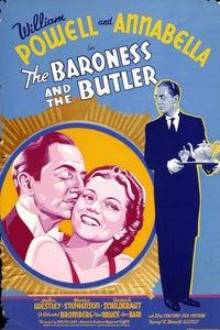 The Baroness and the Butler as Johann Porok