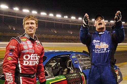 Fast Cars & Superstars: The Young Guns Celebrity Race - Carl Edwards, John Cena