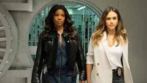 How Gabrielle Union and Jessica Alba Made the Most Mom-Friendly TV Set Ever