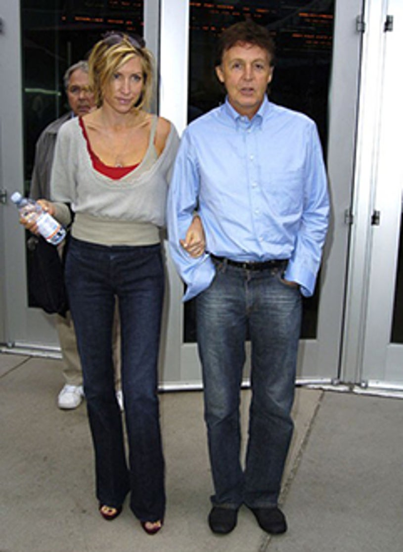 Heather Mills and Paul McCartney - The Hollywood Film Festival's Closing Night Film Gala, October 17, 2004