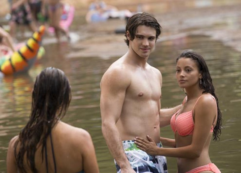 """The Vampire Diaries - Season 6 - """"Welcome to Paradise"""" - Steven R. McQueen and Gabrielle Walsh"""