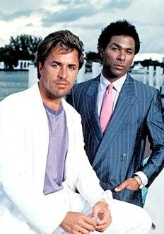 Miami Vice - Don Johnson and Philip Michael Thomas