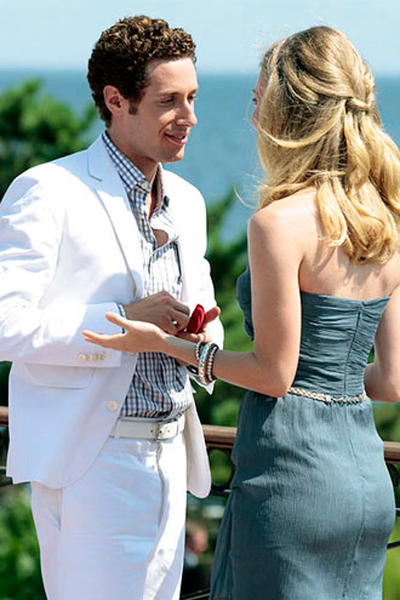 """Royal Pains - Season 3 - """"A Farewell to Barnes"""" - Paulo Costanzo and Brooke D'Orsay"""