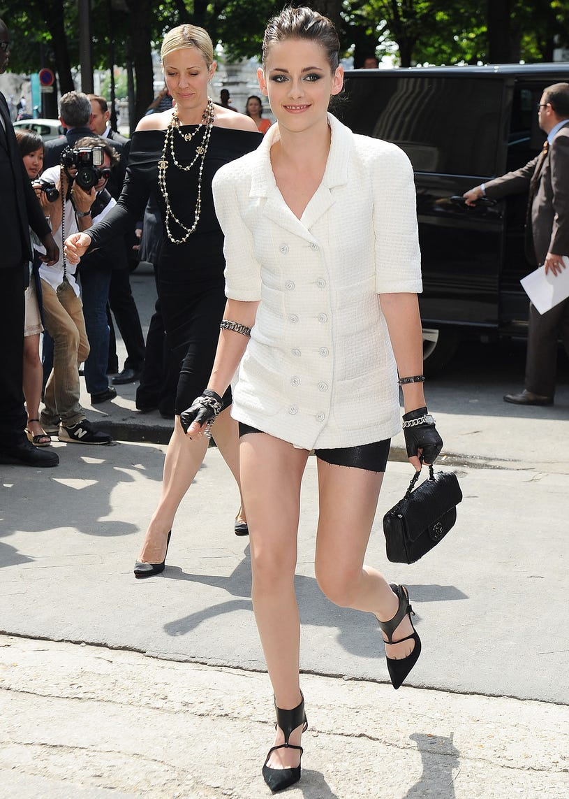 Kristen Stewart - Chanel Show as Part of Paris Fashion Week Haute-Couture Fall/Winter 2013-2014 in Paris, France, July 2, 2103