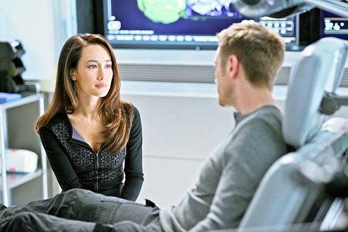 "Nikita - Season 3 - ""Masks"" - Maggie Q and Devon Sawa"