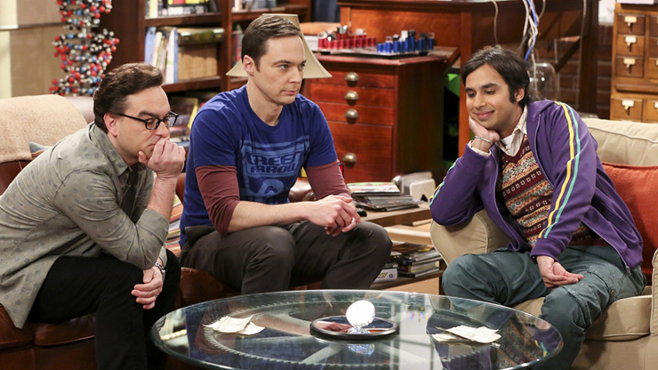 Leonard Hofstadter, Sheldon Cooper and Kunal Nayyar, The Big Bang Theory