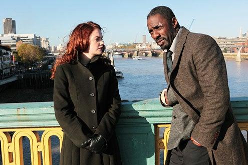 Luther - Season 1 - Ruth Wilson and Idris Elba