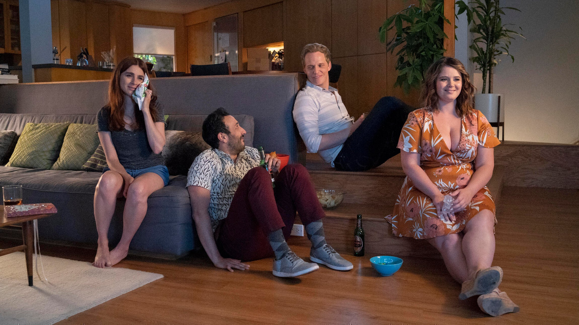 Aya Cash, Desmin Borges, Chris Geere, and Kether Donohue, You're the Worst